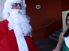Non-Professional elf playgirl fucking santas firm pole