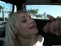 Ness gets treated down some hot action as she fucks and takes a facial
