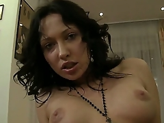 Amateur ill-lit Raffaella gets Rocco Siffredis dick in the fetching asshole