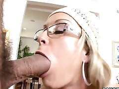 Jessica Moore with succulent butt gets turned on then shagged by mans rock hard ram rod