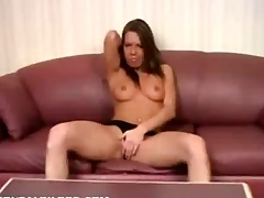 Hot reproachful dildo sex