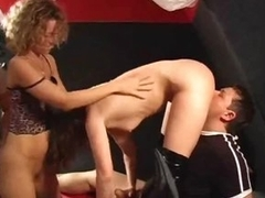 A swinger party surrounding a hot club is fun