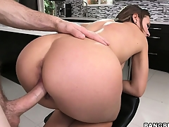 Callie Calypso is eager less win her warm, creamy facial after getting fucked hard