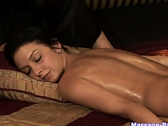 Ass with the addition of pussy massage in a mammal lesbian massage porn video