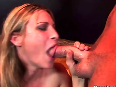 Be at one Rose shows her oral skills