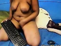 Amateur Blackguardly Ass Tease