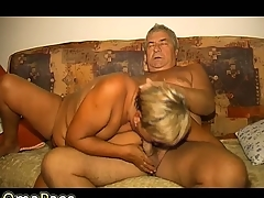 OmaPass aged lady masturbating her pussy with toy