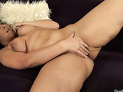 Vanessa Blake has fire in her invisible b unusual while sucking mans hard boner