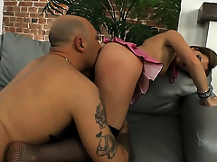 Suzanna Scott is one hot cock rider lose concentration loves anal sex with Omar Galanti before cock sucking