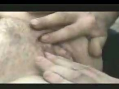 Pussy play and cumshot