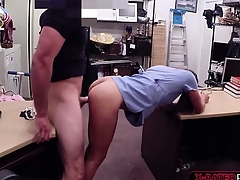 Pawnshop owner gets tended by hot nurse