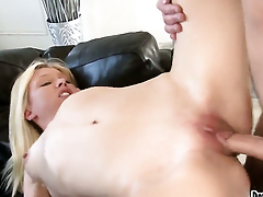 Jeanie Marie Sullivan takes dudes cum loaded worm in her hot brashness